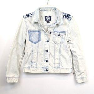 Rock & Republic Hitchhiker bleached denim jacket